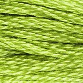 DM117-0907 STRANDED COTTON 8M SKEIN Granny Smith Green