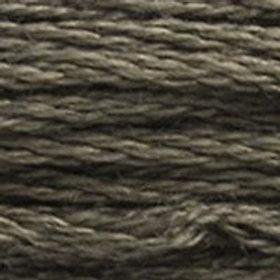 DM117-3787 STRANDED COTTON 8M SKEIN Wolf Grey