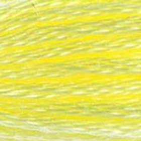 DM117-0445 STRANDED COTTON 8M SKEIN Light Lemon