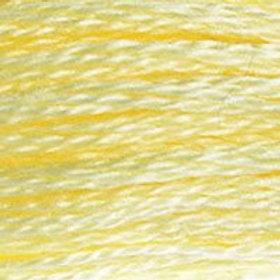 DM117-3078 STRANDED COTTON 8M SKEIN Pale Yellow