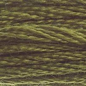 DM117-0730 STRANDED COTTON 8M SKEIN Khaki Green