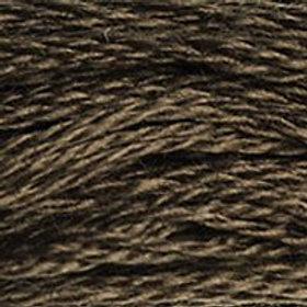 DM117-3031 STRANDED COTTON 8M SKEIN Dark Mocha Brown
