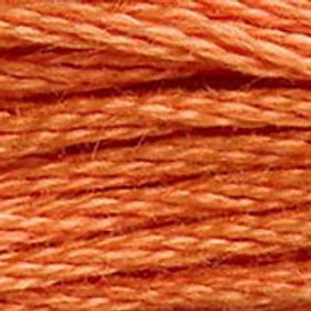 DM117-0922 STRANDED COTTON 8M SKEIN Terracotta