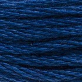 DM117-0803 STRANDED COTTON 8M SKEIN Ink Blue