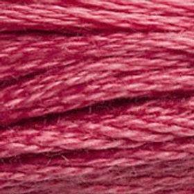DM117-3731 STRANDED COTTON 8M SKEIN Dark Hydrangea Pink