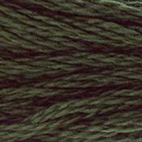 DM117-0935 STRANDED COTTON 8M SKEIN Undergrowth Green