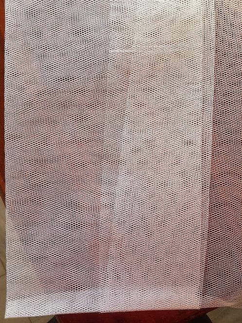 Nylon Dress Netting, White Tulle