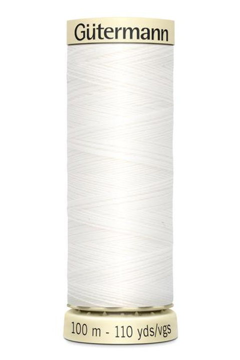 Gutermann Extra Strong Thread 100% polyester 100m #800