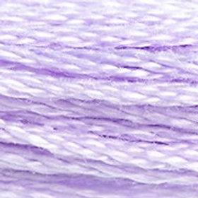DM117-0211 STRANDED COTTON 8M SKEIN Pale Violet