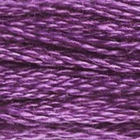 DM117-0327 STRANDED COTTON 8M SKEIN Dark Violet
