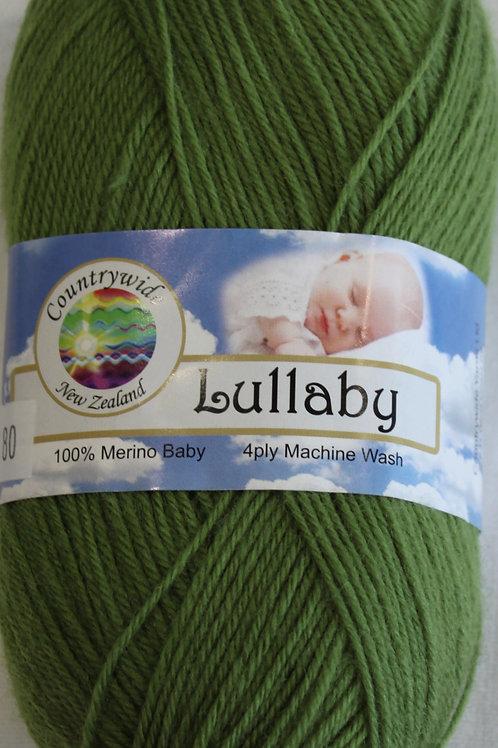 Lullaby 4 PLY DK 100% Merino 50gm Grass