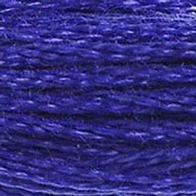 DM117-0792 STRANDED COTTON 8M SKEIN Deep Cornflower Blue