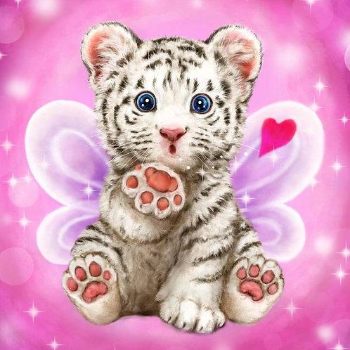 Grafitec Printed Tapestry Baby Tiger Kiss