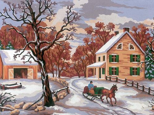 Grafitec Printed Tapestry Winter Scene
