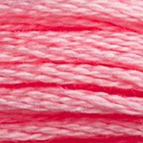 DM117-0957 STRANDED COTTON 8M SKEIN Bright Pink