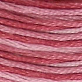 DM117-0099 STRANDED COTTON 8M SKEIN Variegated Mauve