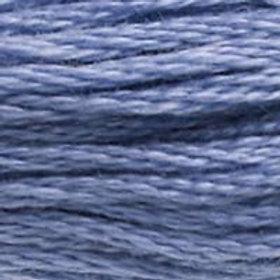DM117-0160 STRANDED COTTON 8M SKEIN Storm Blue