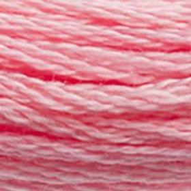 DM117-3708 STRANDED COTTON 8M SKEIN Azalea Pink