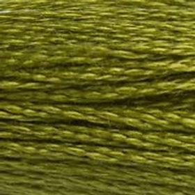 DM117-0580 STRANDED COTTON 8M SKEIN Cactus Green