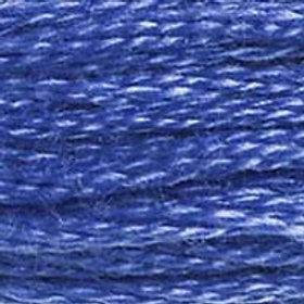 DM117-0798 STRANDED COTTON 8M SKEIN Cobalt Blue