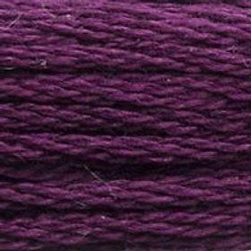 DM117-0154 STRANDED COTTON 8M SKEIN Prune Rose