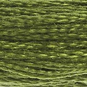 DM117-0469 STRANDED COTTON 8M SKEIN Dark Moss Green