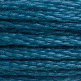 DM117-3760 STRANDED COTTON 8M SKEIN Fjord Blue