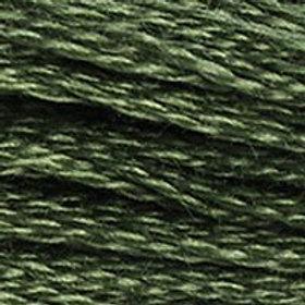 DM117-3362 STRANDED COTTON 8M SKEIN Fig Tree Green