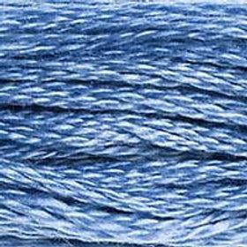 DM117-0334 STRANDED COTTON 8M SKEIN Pale Indigo Blue
