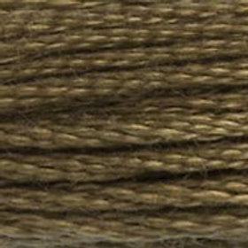 DM117-0611 STRANDED COTTON 8M SKEIN Sisal Brown