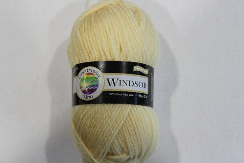 Windsor Standard 8 PLY DK 100% Wool 50gm Lemon