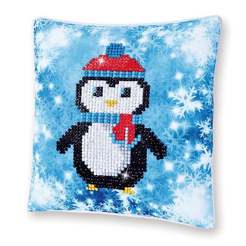 Diamond Dotz Christmas Penguin (Mini Pillow)