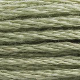 DM117-0523 STRANDED COTTON 8M SKEIN Ash Green