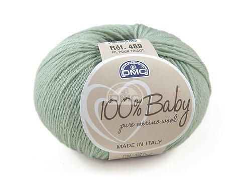 DMC 100% Baby Merino Green -082
