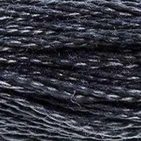 DM117-0413 STRANDED COTTON 8M SKEIN Iron Grey