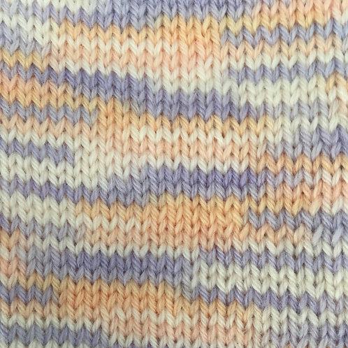 Woolly 4ply 100% Pure Baby Merino Wool Sh 195 Pastel Print