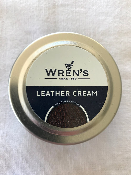 Wren's Leather Cream Camel #166