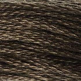 DM117-0838 STRANDED COTTON 8M SKEIN Dark Wood
