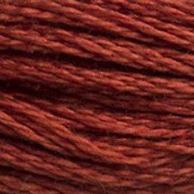 DM117-0918 STRANDED COTTON 8M SKEIN Dark Red Copper