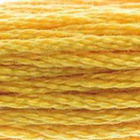 DM117-0728 STRANDED COTTON 8M SKEIN Hops Yellow