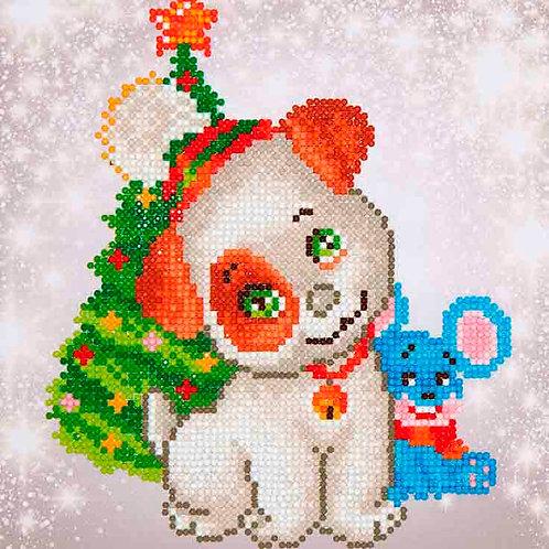 Diamond Dotz Christmas Pup & Mouse