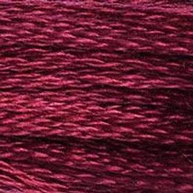 DM117-0815 STRANDED COTTON 8M SKEIN Cherry Red
