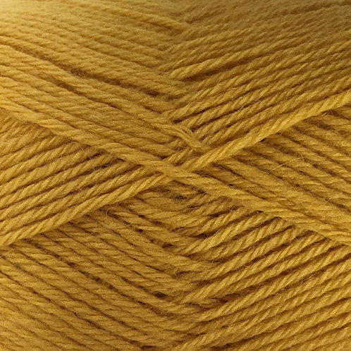 Crucci - 4ply 100% Pure New Zealand Soft Wool Sh 13 Mustard