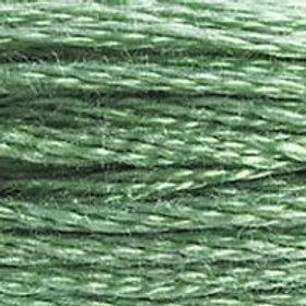 DM117-0320 STRANDED COTTON 8M SKEIN Fern Green