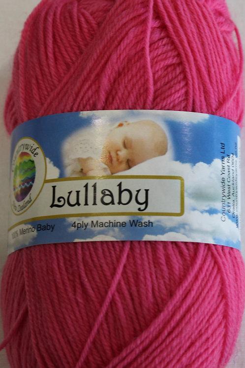 Lullaby 4 PLY DK 100% Merino 50gm Bight Pink