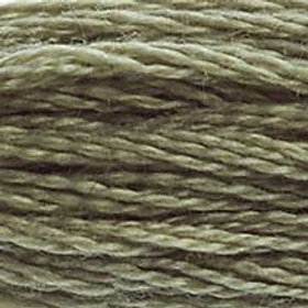 DM117-0642 STRANDED COTTON 8M SKEIN Earth Grey