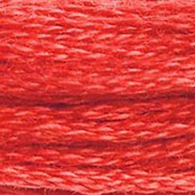 DM117-0349 STRANDED COTTON 8M SKEIN Chilli Red