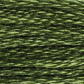 DM117-0937 STRANDED COTTON 8M SKEIN Moss Green