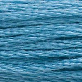 DM117-0518 STRANDED COTTON 8M SKEIN Light Wedgwood Blue