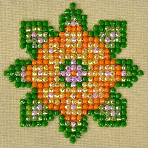 Diamond Dotz Flower Mandala 1